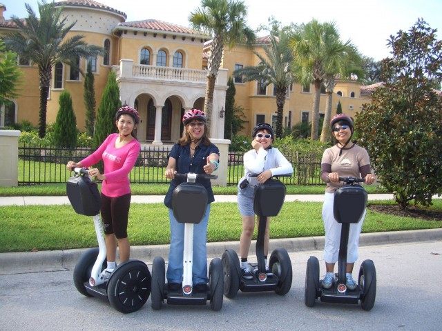 Glide on a Segway